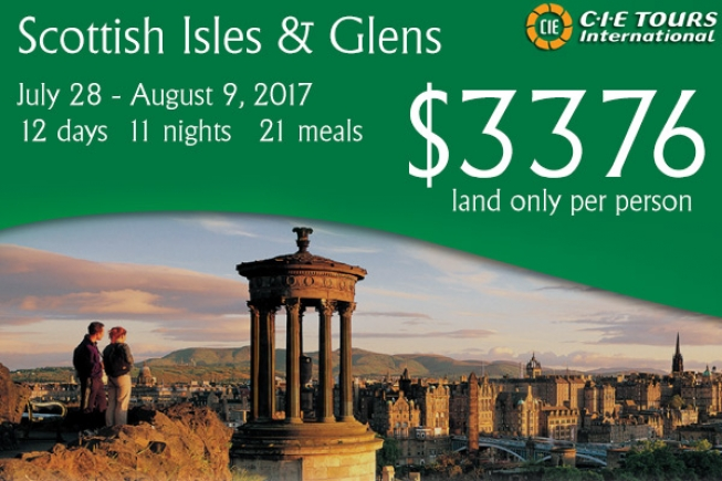 CIE Sottish Isles and Glens